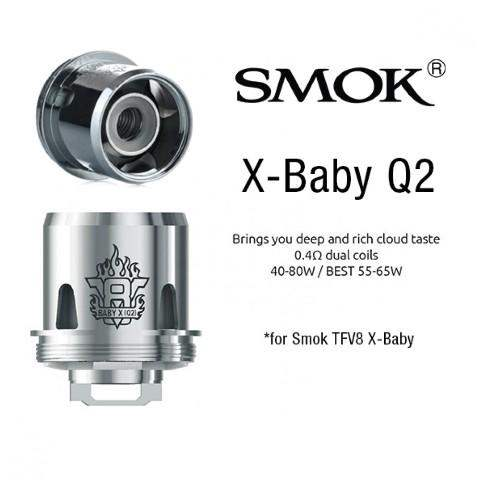 SMOK TFV8 X-Baby-Q2 Coil Head - 0.4 OHM - Single Coil-0