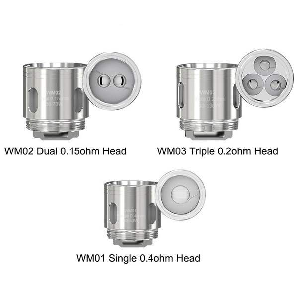 Wismec WM02 0.15 OHM - Single Coil Head-3175
