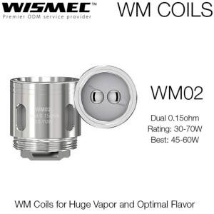 Wismec WM02 0.15 OHM - Single Coil Head-0