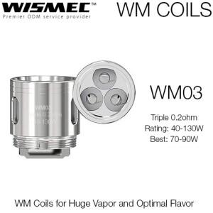 Wismec WM03 0.2 OHM - Single Coil Head-0