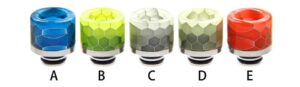 Noctilucent 510 Resin and Stainless Steel Drip Tip-0