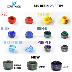 Vandy Vape | Resin 810 Drip Tip