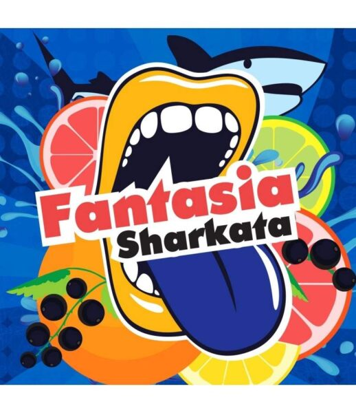 10ml Big Mouth - Fantasia Sharkata - One Shot Concentrated Flavour - Makes 100ml Eliquid-0