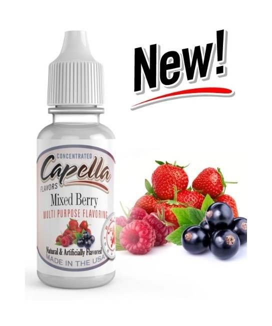 Capella 10ml Concentrated Mixed Berry Flavor for Eliquid / Ejuice DIY / Self Mixing-0