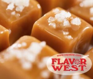 Flavor West 10ml Concentrated Salted Caramel Flavor for Eliquid / Ejuice DIY / Self Mixing-0