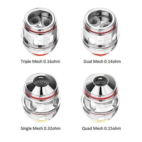 Uwell Valyrian II Coil TPD Stainless Steel 0.32ohm UN2 Single Meshed -0