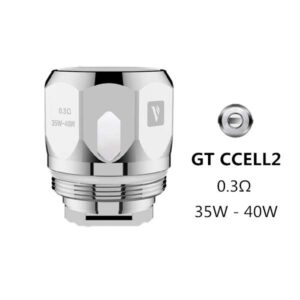 Vaporesso GT CCELL2 Coils 0.3 Ohm Single Replacement Coil Head-0