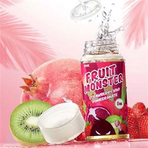 Strawberry Kiwi Pomegranate | Fruit Monster | 120ml 3mg