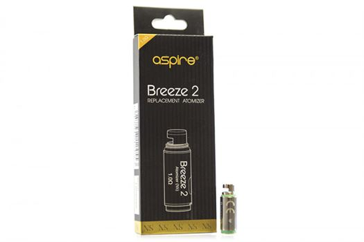 Aspire Breeze 2 Coil Head | 1.0 ohm | Single Coil
