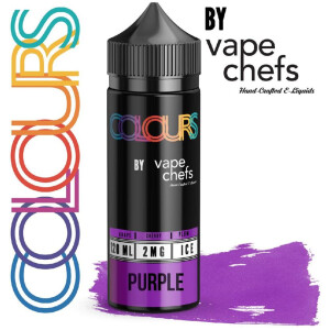 Colours By Vape Chefs Purple | 120ml 2mg