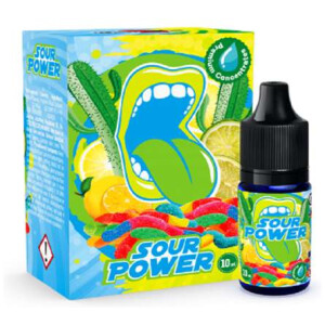 Big Mouth Sour Power | 10ml One Shot Concentrated Flavour | Makes 100ml Eliquid