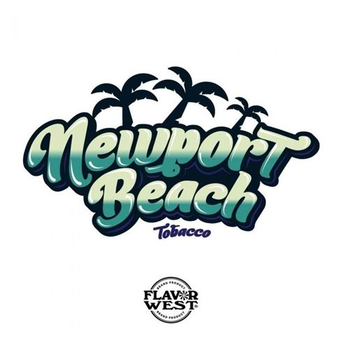 Flavor West Branded Tobacco Newport Beach (Menthol Tobacco) | 10ml Concentrated Flavor for DIY | Self Mixing