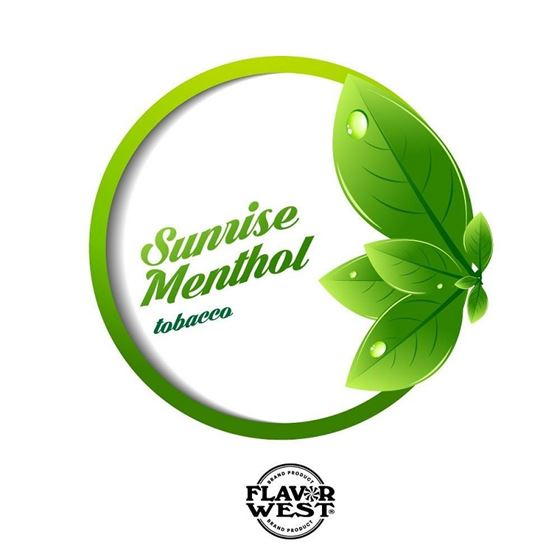 Flavor West Sunrise Menthol Tobacco | 10ml Concentrated Flavor for DIY | Self Mixing