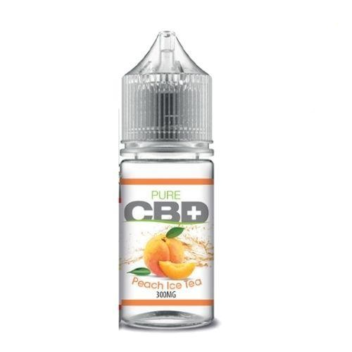 Pure CBD+ | Peach Iced Tea | 30ml 300mg