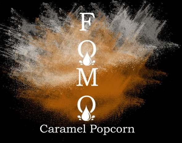Caramel Popcorn | FOMO Eliquids | 120ml 3mg