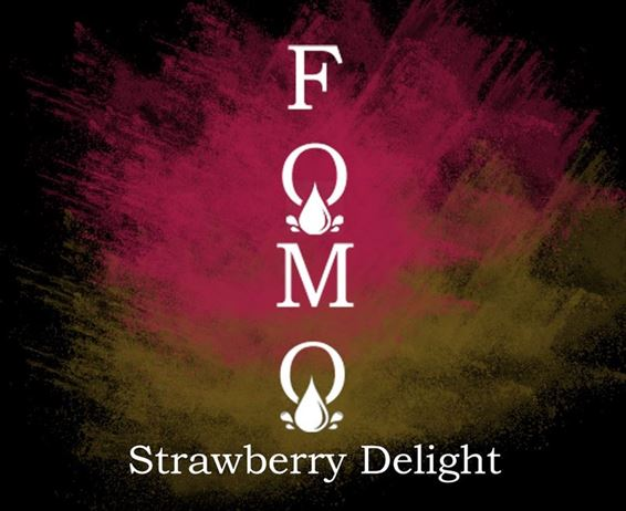 Strawberry Delight | FOMO Eliquids | 120ml 3mg