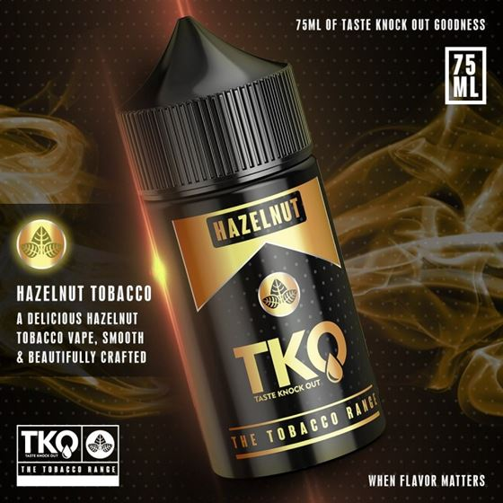 Hazelnut Tobacco | TKO | 75ml 3mg