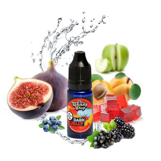 Big Mouth Dark Jelly | 10ml One Shot Concentrated Flavour | Makes 100ml Eliquid