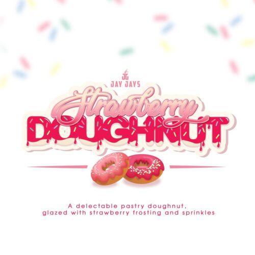 Strawberry Doughnut | Jay Jays | MTL | 12mg 60ml