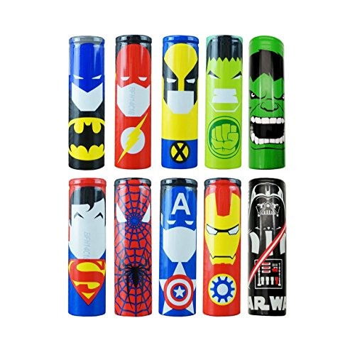 18650 Battery Wraps | Various Options