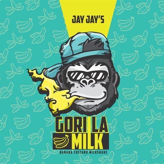 Gorilla Milk | Jay Jays | MTL | 12mg 60ml