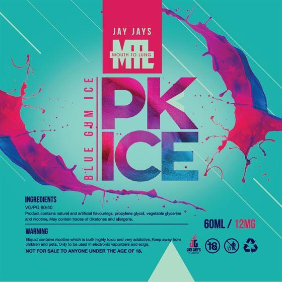 PK Ice | Blue Gum | Jay Jays | MTL | 12mg 60ml