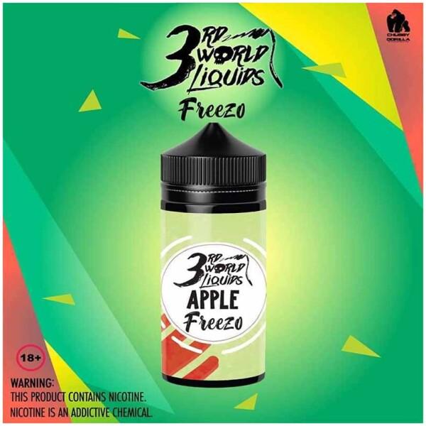 Apple Freezo | 3rd World Liquids | 120ml 2mg