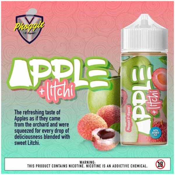 Apple Litchi | Phoggit Eliquid | 120ml