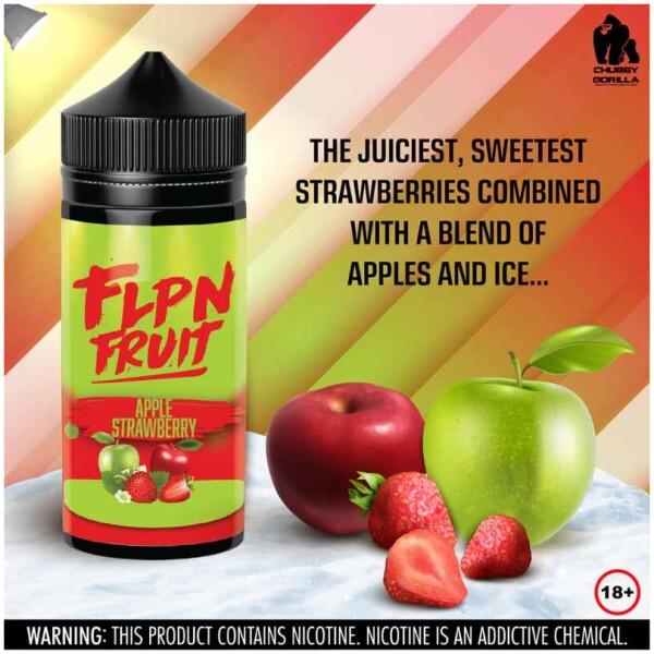 Apple Strawberry   FLPN Fruit   120ml 2mg