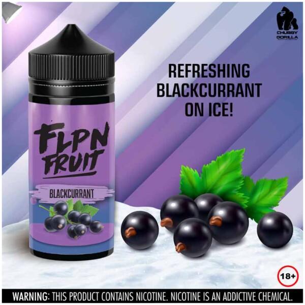 Blackcurrant | FLPN Fruit | 120ml 2mg