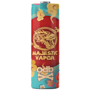 Majestic Vapor | ODB Battery Wraps | 18650 Single Wraps