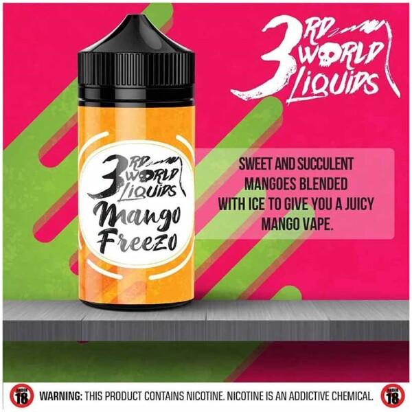 Mango Freezo | 3rd World Liquids | 120ml 2mg