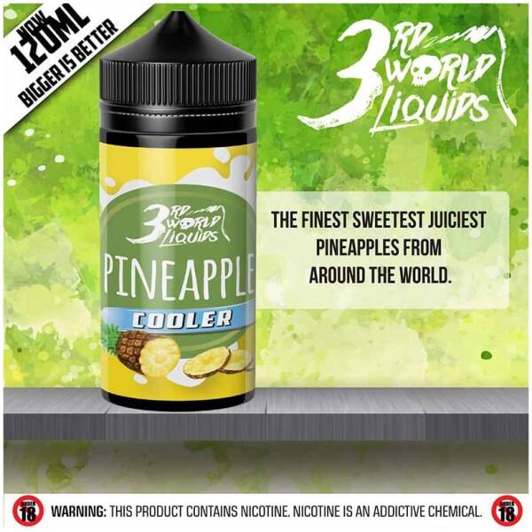 Pineapple Cooler | 3rd World Liquids | 120ml 2mg