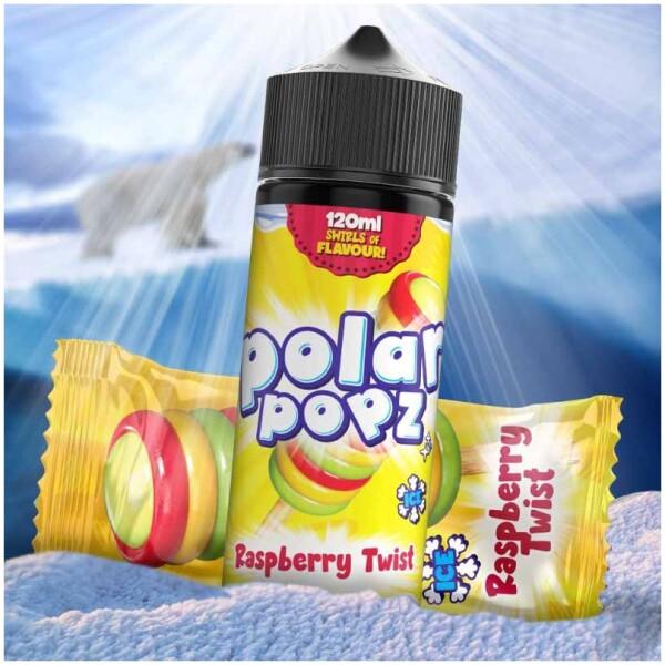 Raspberry Twist | Polar Popz | 120ml 2mg