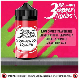 Strawberry Freezo | 3rd World Liquids | 120ml 2mg