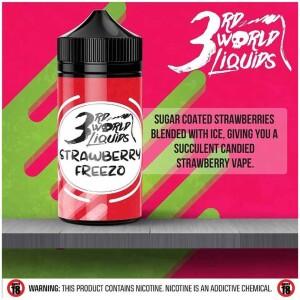 Strawberry Freezo | 3rd World Liquids | 120ml 2mg
