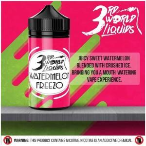 Watermelon Freezo | 3rd World Liquids | 120ml 2mg