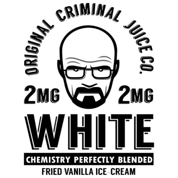 White | Original Criminal | 100ml 2mg