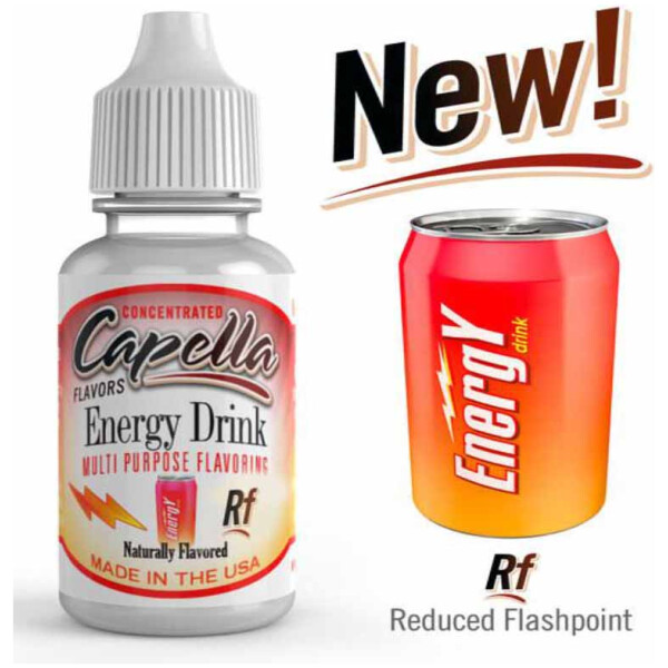 Capella Energy Drink | 10ml Concentrated Flavor for DIY Self Mixing