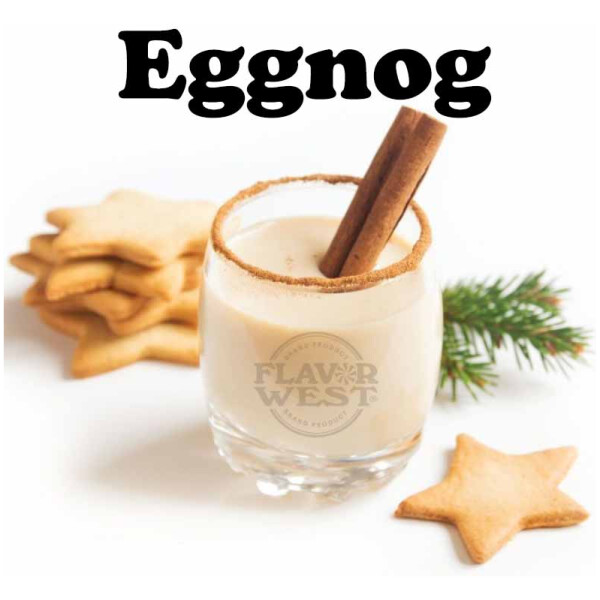 Flavor West Eggnog | 10ml Concentrated Flavor for DIY | Self Mixing