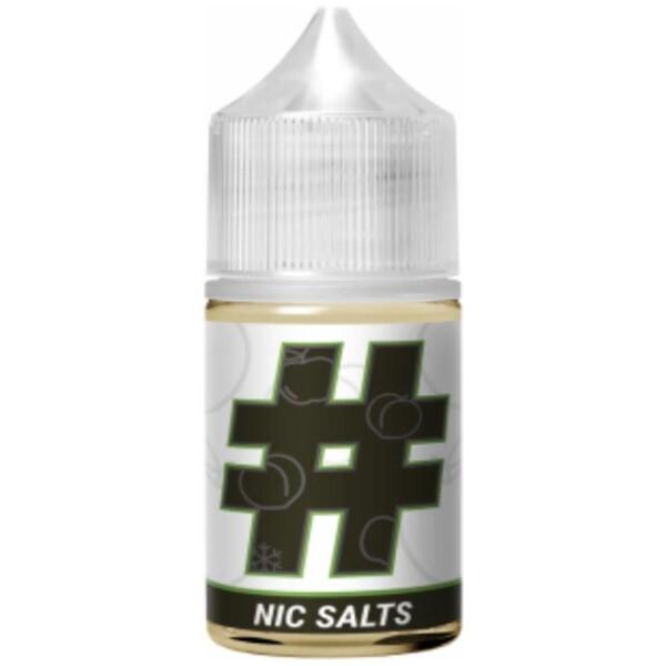 # Hashtag Nic Salts | Punctuation E-Liquids | 30ml 20mg