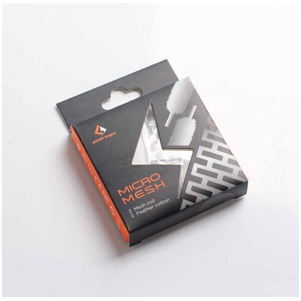Zeus X Mesh Coil Kit | MicroMesh Ni80